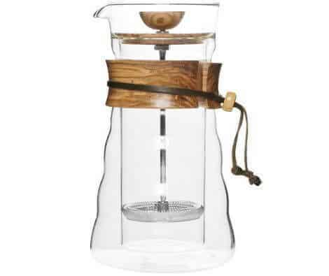 Hario Double Walled Glass Cafe Press