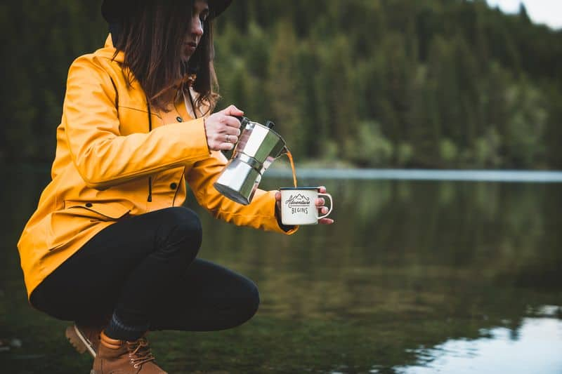 portable coffee maker for camping