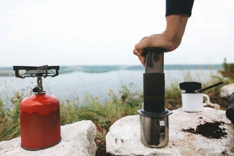 small portable coffee maker aeropress