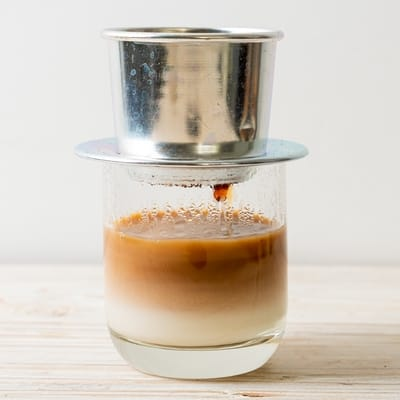 vietnamese coffee phin brewing method