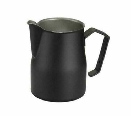 Motta Europa black milk jug